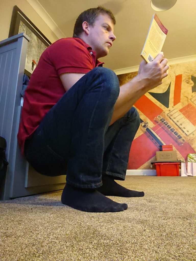 Life Hacks #1 - read while squatting
